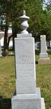 COCHRAN, CORA - Union County, Ohio | CORA COCHRAN - Ohio Gravestone Photos