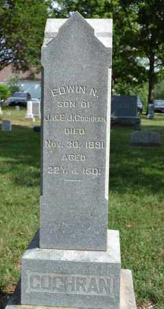 COCHRAN, EDWIN N. - Union County, Ohio | EDWIN N. COCHRAN - Ohio Gravestone Photos