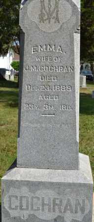 COCHRAN, EMMA - Union County, Ohio | EMMA COCHRAN - Ohio Gravestone Photos