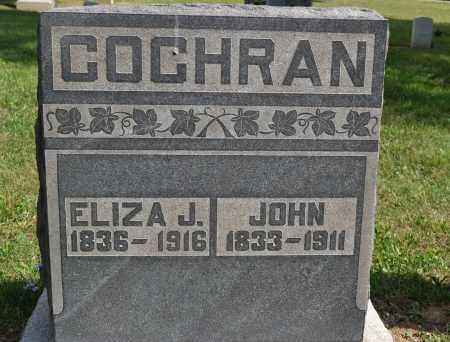 COCHRAN, ELIZA J. - Union County, Ohio | ELIZA J. COCHRAN - Ohio Gravestone Photos