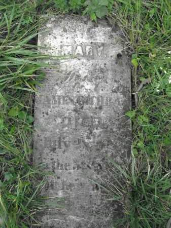 COCHRAN, MARY - Union County, Ohio | MARY COCHRAN - Ohio Gravestone Photos