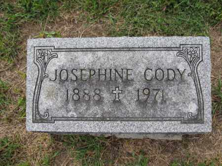 CODY, JOSEPHINE - Union County, Ohio | JOSEPHINE CODY - Ohio Gravestone Photos
