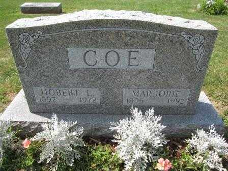COE, MARJORIE - Union County, Ohio | MARJORIE COE - Ohio Gravestone Photos