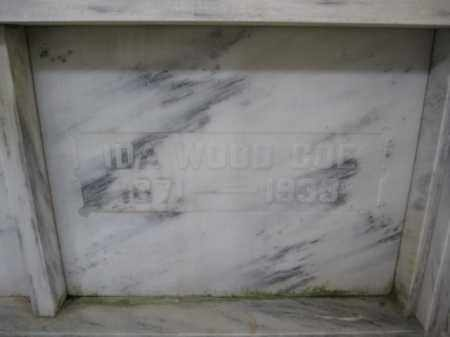 COE, IDA WOOD - Union County, Ohio | IDA WOOD COE - Ohio Gravestone Photos
