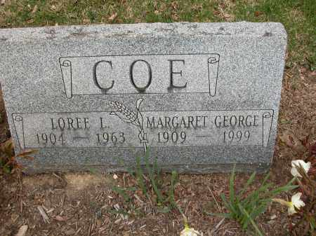 COE, MARGARET GEORGE - Union County, Ohio | MARGARET GEORGE COE - Ohio Gravestone Photos