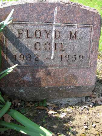 COIL, FLOYD M. - Union County, Ohio | FLOYD M. COIL - Ohio Gravestone Photos