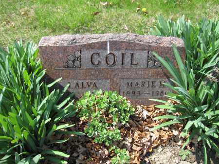 COIL, J. ALVA - Union County, Ohio | J. ALVA COIL - Ohio Gravestone Photos