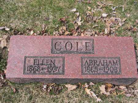 COLE, ABRAHAM - Union County, Ohio | ABRAHAM COLE - Ohio Gravestone Photos