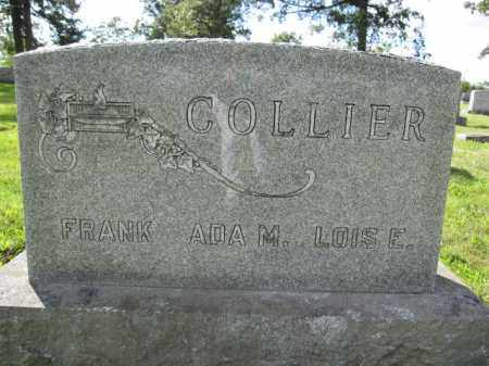 COLLIER, FRANK - Union County, Ohio | FRANK COLLIER - Ohio Gravestone Photos