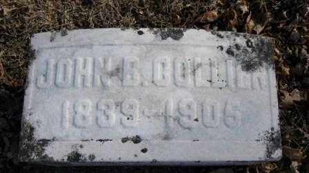 COLLIER, JOHN B. - Union County, Ohio | JOHN B. COLLIER - Ohio Gravestone Photos
