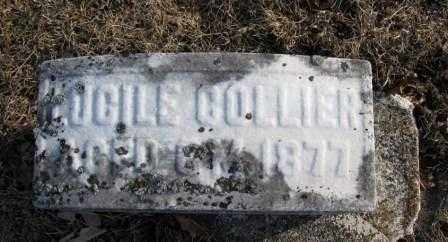 COLLIER, LUCILE - Union County, Ohio   LUCILE COLLIER - Ohio Gravestone Photos