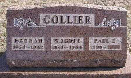 COLLIER, W. SCOTT - Union County, Ohio | W. SCOTT COLLIER - Ohio Gravestone Photos