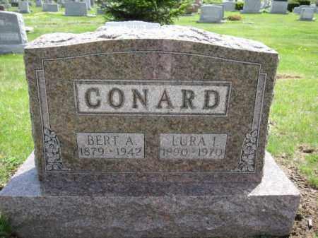 CONARD, LURA I. - Union County, Ohio | LURA I. CONARD - Ohio Gravestone Photos