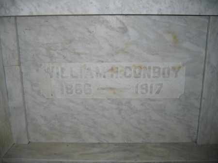 CONBOY, WILLIAM H. - Union County, Ohio | WILLIAM H. CONBOY - Ohio Gravestone Photos