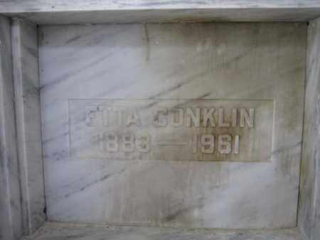 CONKLIN, ETTA - Union County, Ohio | ETTA CONKLIN - Ohio Gravestone Photos