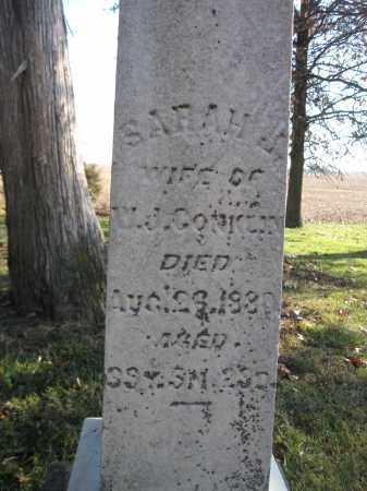 CONKLIN, SARAH J. - Union County, Ohio   SARAH J. CONKLIN - Ohio Gravestone Photos