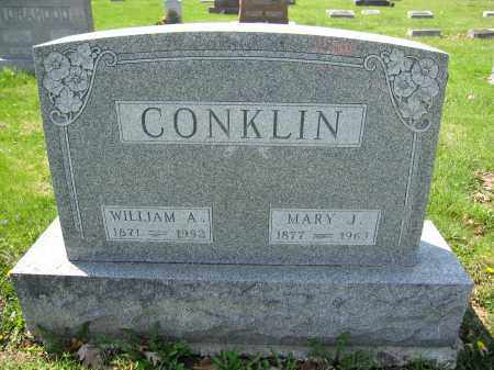 CONKLIN, MARY J. - Union County, Ohio | MARY J. CONKLIN - Ohio Gravestone Photos