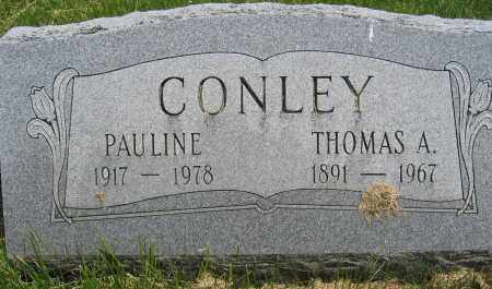 CONLEY, PAULINE - Union County, Ohio | PAULINE CONLEY - Ohio Gravestone Photos
