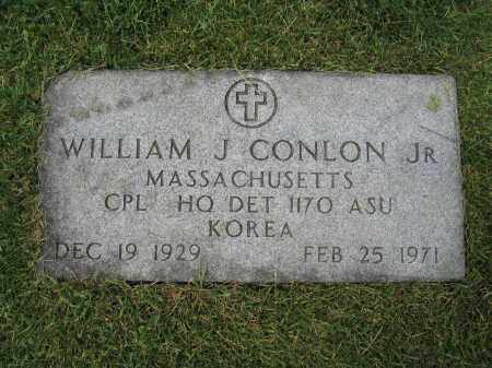CONLON, JR., WILLIAM J. - Union County, Ohio | WILLIAM J. CONLON, JR. - Ohio Gravestone Photos