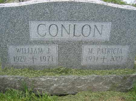 CONLON, WILLIAM J. - Union County, Ohio | WILLIAM J. CONLON - Ohio Gravestone Photos