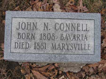 CONNELL, JOHN N. - Union County, Ohio | JOHN N. CONNELL - Ohio Gravestone Photos