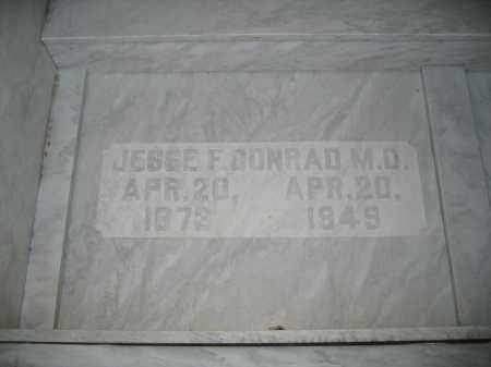 CONRAD, M.D., JESSE F. - Union County, Ohio | JESSE F. CONRAD, M.D. - Ohio Gravestone Photos