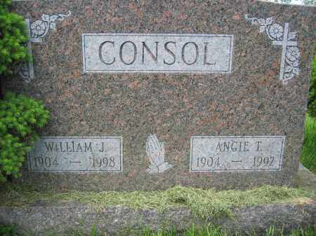 CONSOL, ANGIE T. - Union County, Ohio | ANGIE T. CONSOL - Ohio Gravestone Photos