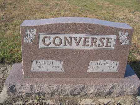 CONVERSE, EARNEST L. - Union County, Ohio | EARNEST L. CONVERSE - Ohio Gravestone Photos