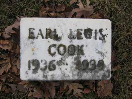 COOK, EARL LEWIS - Union County, Ohio | EARL LEWIS COOK - Ohio Gravestone Photos