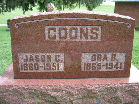 COONS, ORA B. - Union County, Ohio | ORA B. COONS - Ohio Gravestone Photos