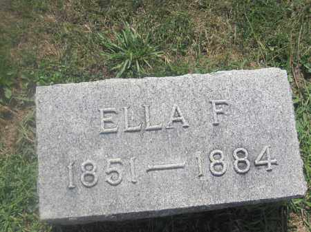 COOPERIDER, ELLA F. - Union County, Ohio | ELLA F. COOPERIDER - Ohio Gravestone Photos