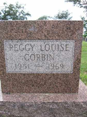 CORBIN, PEGGY LOUISE - Union County, Ohio | PEGGY LOUISE CORBIN - Ohio Gravestone Photos