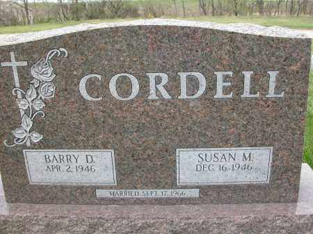 CORDELL, SUSAN M. - Union County, Ohio | SUSAN M. CORDELL - Ohio Gravestone Photos
