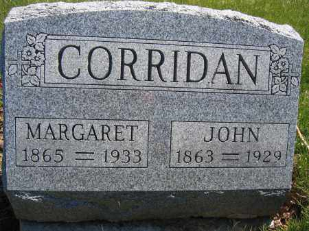 CORRIDAN, MARGARET - Union County, Ohio | MARGARET CORRIDAN - Ohio Gravestone Photos