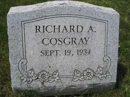 COSGRAY, RICHARD A. - Union County, Ohio | RICHARD A. COSGRAY - Ohio Gravestone Photos