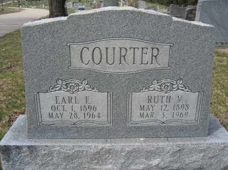 COURTER, RUTH V. - Union County, Ohio | RUTH V. COURTER - Ohio Gravestone Photos