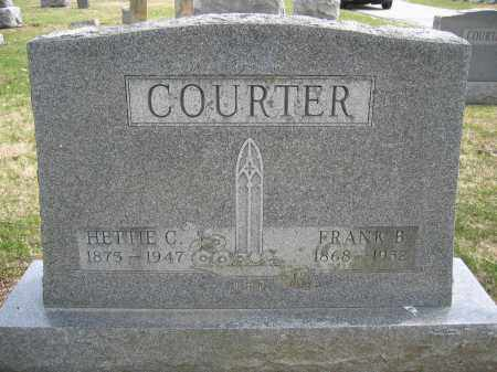 COURTER, HETTIE C. - Union County, Ohio | HETTIE C. COURTER - Ohio Gravestone Photos