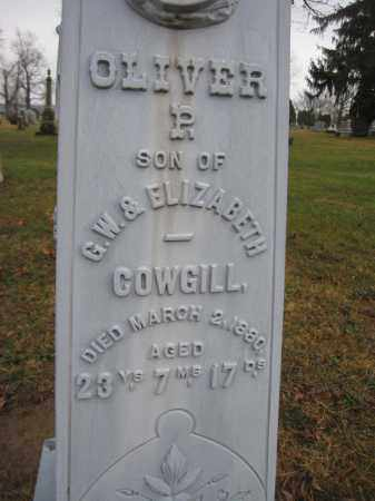 COWGILL, OLIVER P. - Union County, Ohio | OLIVER P. COWGILL - Ohio Gravestone Photos