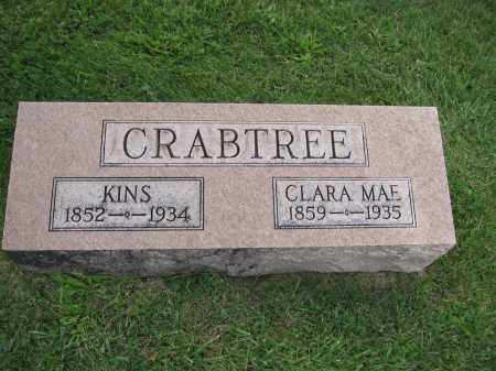 CRABTREE, KINS - Union County, Ohio | KINS CRABTREE - Ohio Gravestone Photos