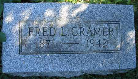 CRAMER, FRED L. - Union County, Ohio | FRED L. CRAMER - Ohio Gravestone Photos
