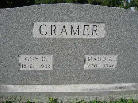 CRAMER, MAUD A. - Union County, Ohio | MAUD A. CRAMER - Ohio Gravestone Photos