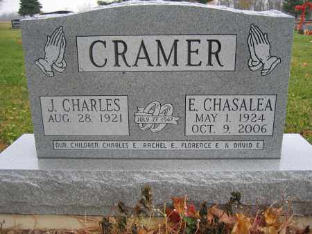 CRAMER, E. CHASALEA - Union County, Ohio | E. CHASALEA CRAMER - Ohio Gravestone Photos