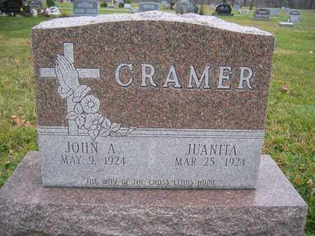 CRAMER, JUANITA - Union County, Ohio | JUANITA CRAMER - Ohio Gravestone Photos