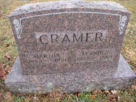 CRAMER, MARTHA MORRIS - Union County, Ohio | MARTHA MORRIS CRAMER - Ohio Gravestone Photos