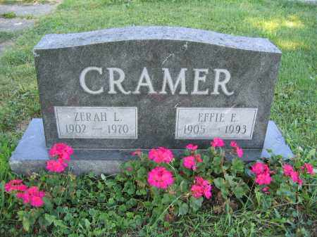 CRAMER, EFFIE E. - Union County, Ohio | EFFIE E. CRAMER - Ohio Gravestone Photos