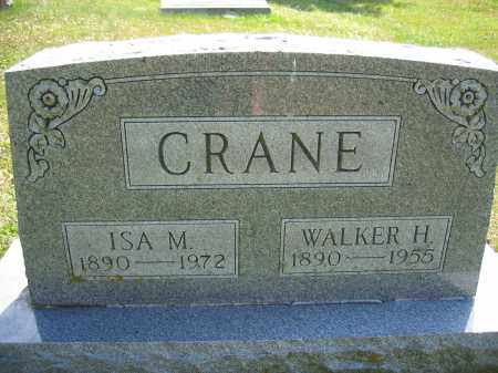 CRANE, WALKER H. - Union County, Ohio | WALKER H. CRANE - Ohio Gravestone Photos