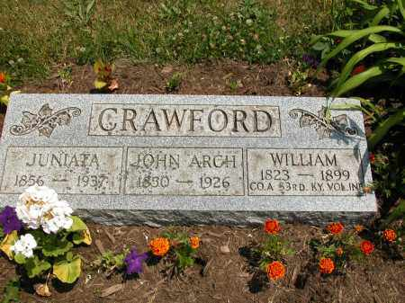 CRAWFORD, WILLIAM - Union County, Ohio | WILLIAM CRAWFORD - Ohio Gravestone Photos