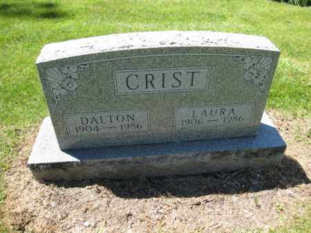 CRIST, LAURA - Union County, Ohio | LAURA CRIST - Ohio Gravestone Photos
