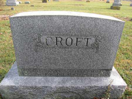CROFT, MAGGIE A. - Union County, Ohio | MAGGIE A. CROFT - Ohio Gravestone Photos