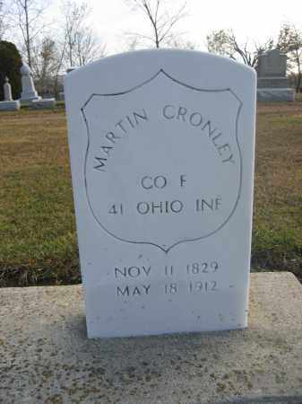 CRONLEY, MARTIN - Union County, Ohio | MARTIN CRONLEY - Ohio Gravestone Photos